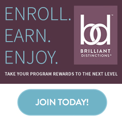 Join the Brilliant Distinctions customer loyalty program.