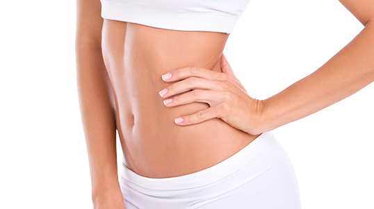 Before and after galleries of CoolSculpting procedures for the abdomen
