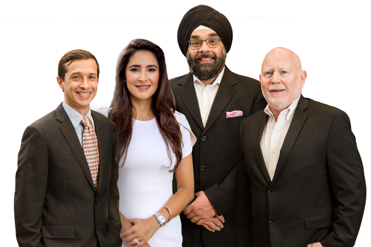 Our Board Certified Plastic Surgeons: Dr. Rogers, Dr. Nijher, Dr. Ahumada and Board Eligible Candidate Dr. Carreras-Montgomery