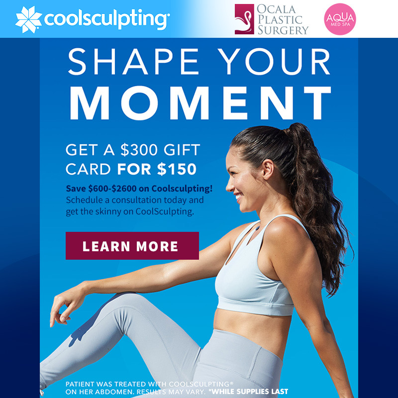 Shape Your Moment with CoolSculpting